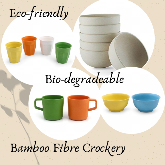 Bamboo Crockery