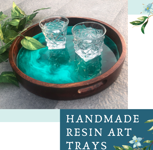 Resin Art Trays