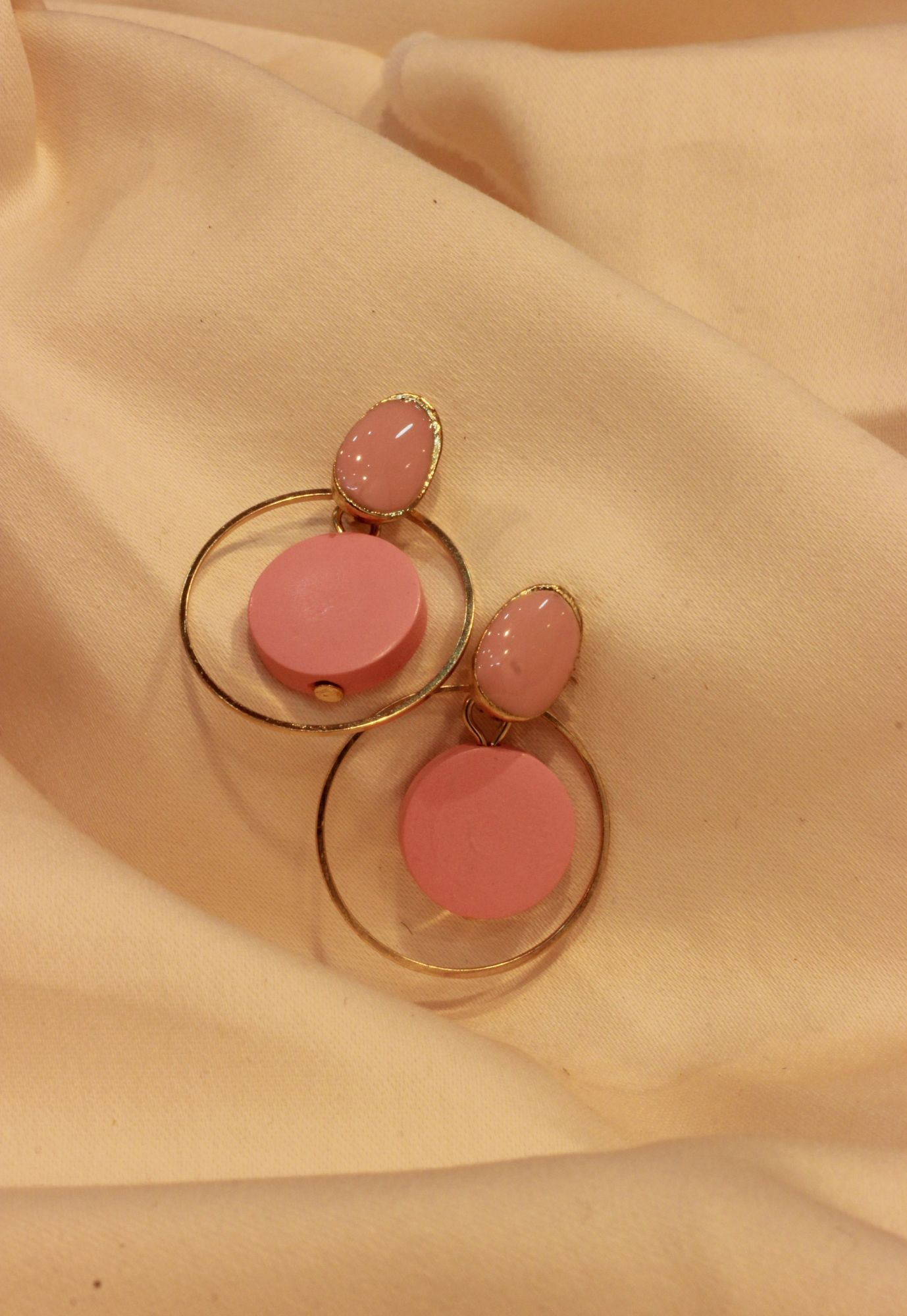 Pink On Fleek Drop EarRings