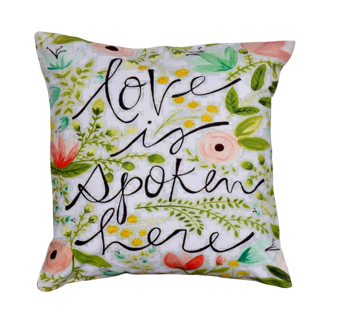 "Happy Love 16"" Cushions Covers (Set of 2)"