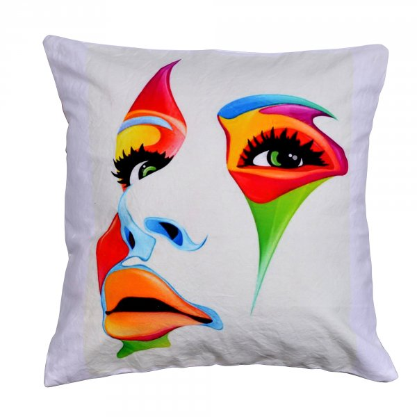 "White Lady 16"" Cushion Cover"
