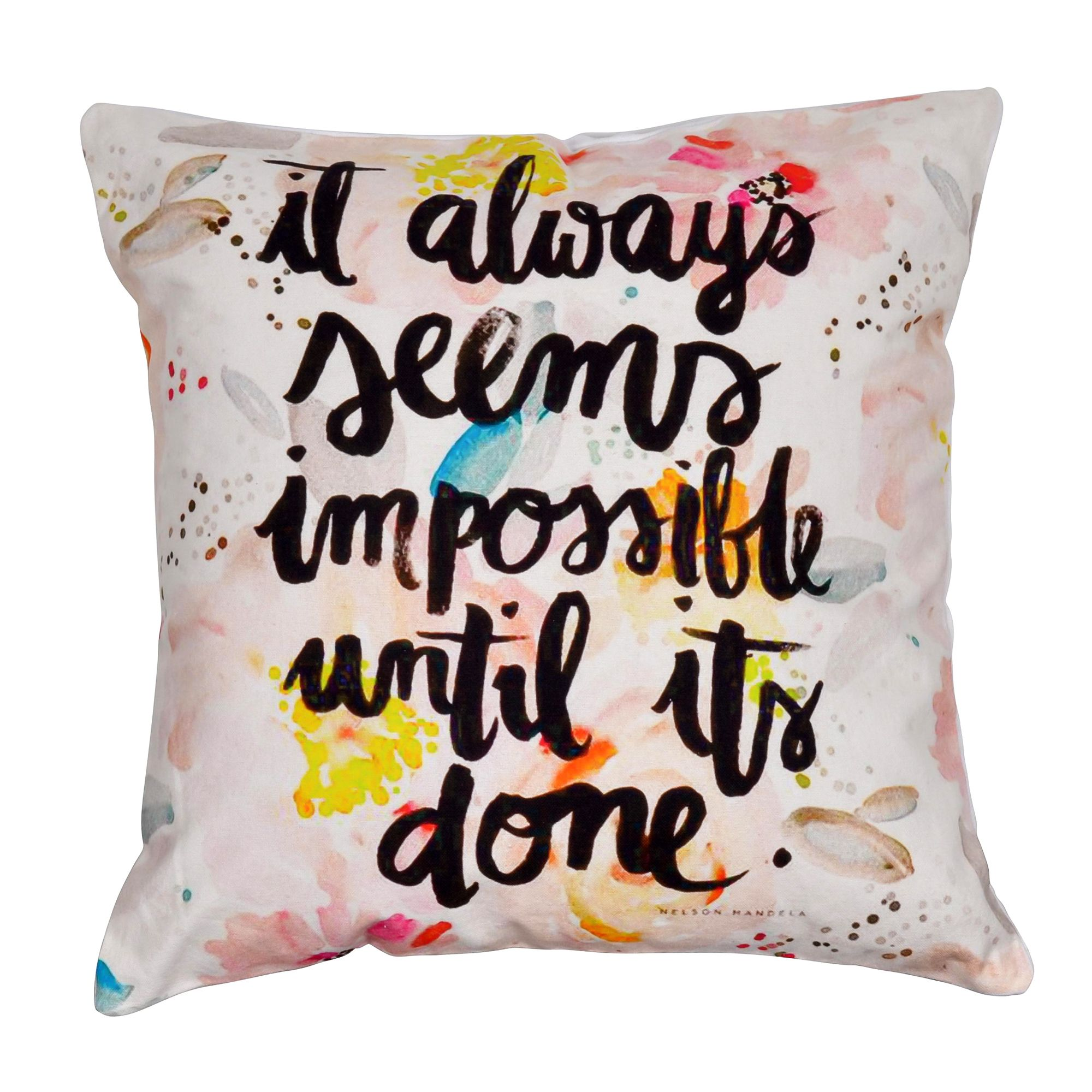 "Inspiration 16"" Digital Print Cushion Cover"