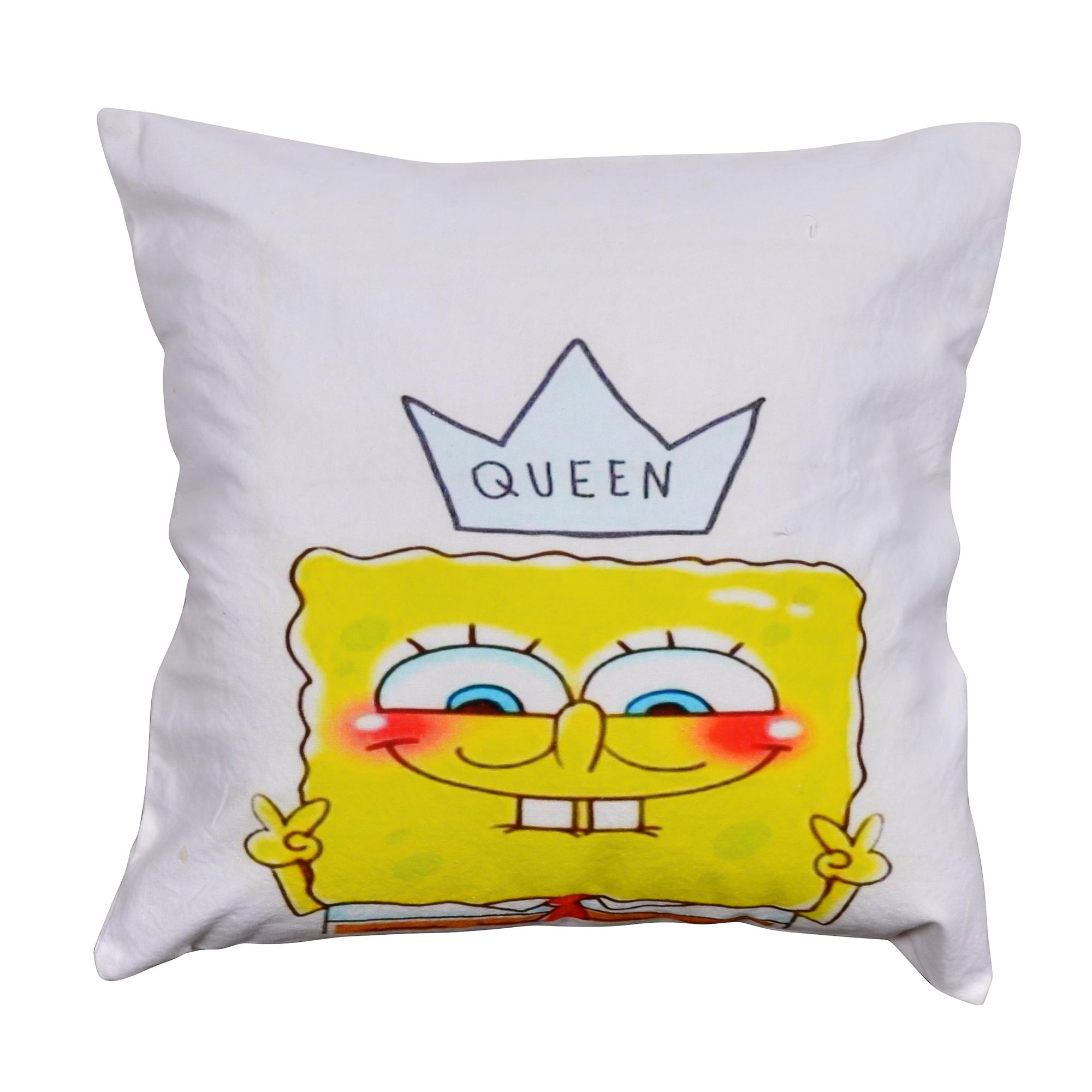 "Queen Spongebob 16"" Cushion Cover"