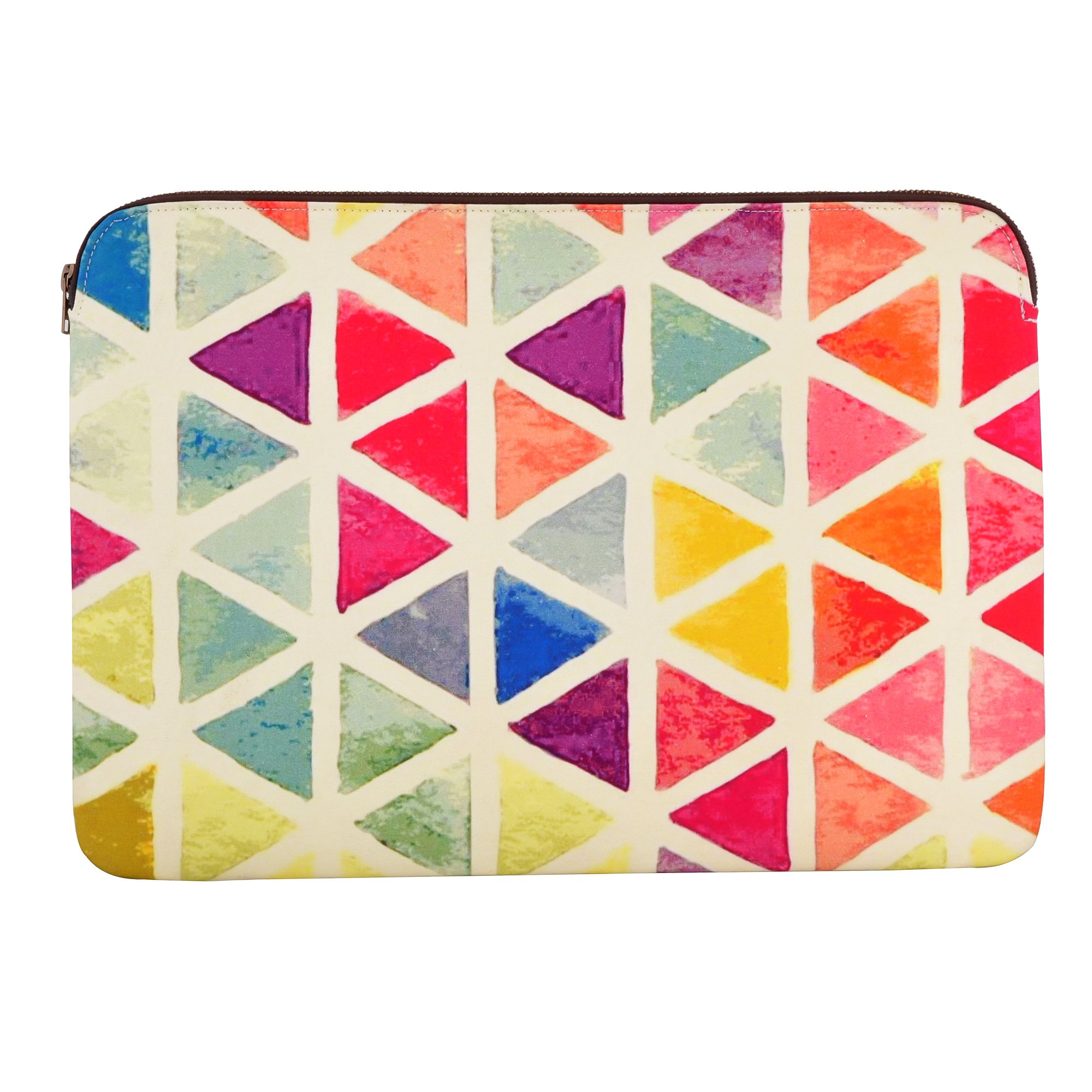 "Triangular Circus 15.6"" Protective Laptop Case"