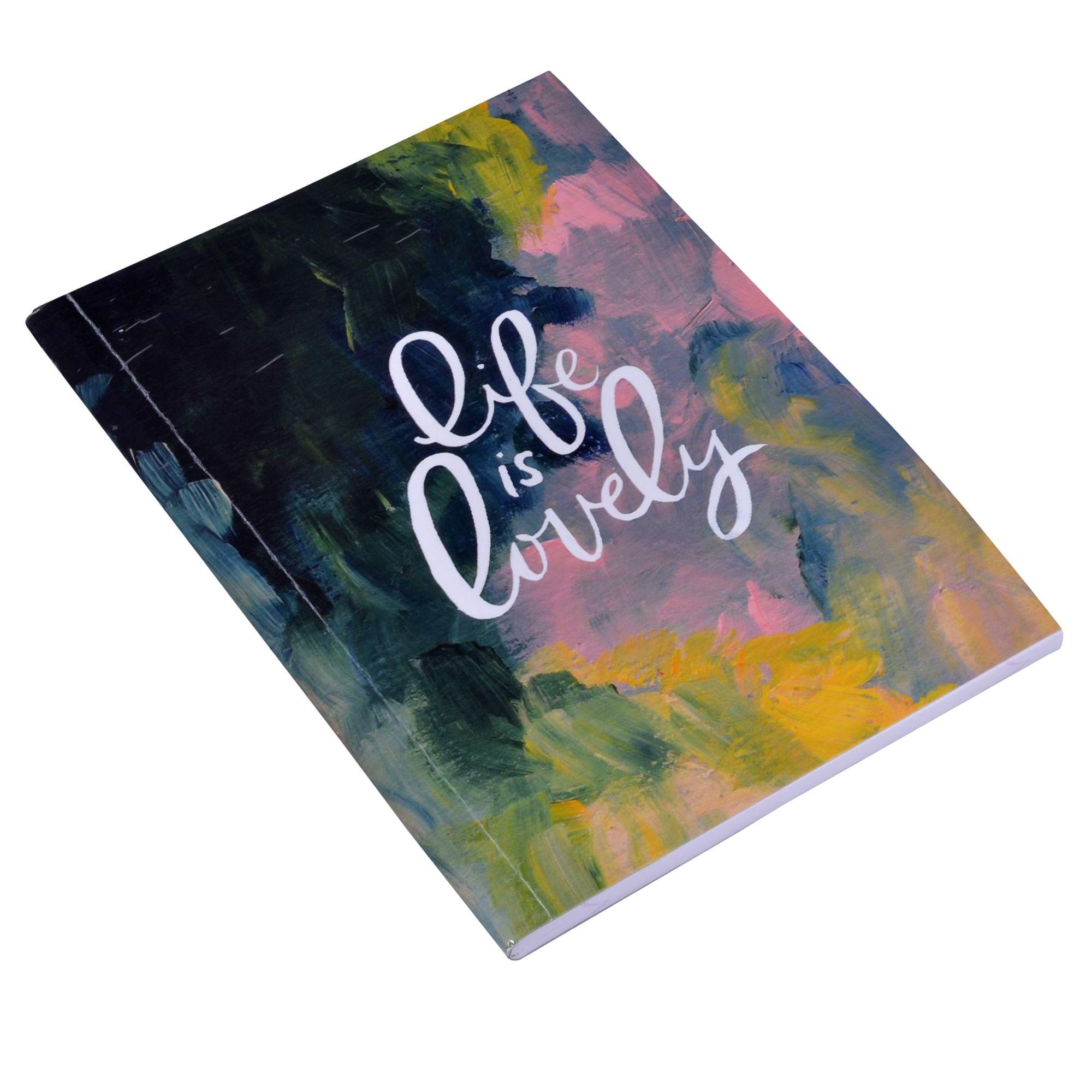 Life Is Lovely Ruled Notebook 11 x 8""