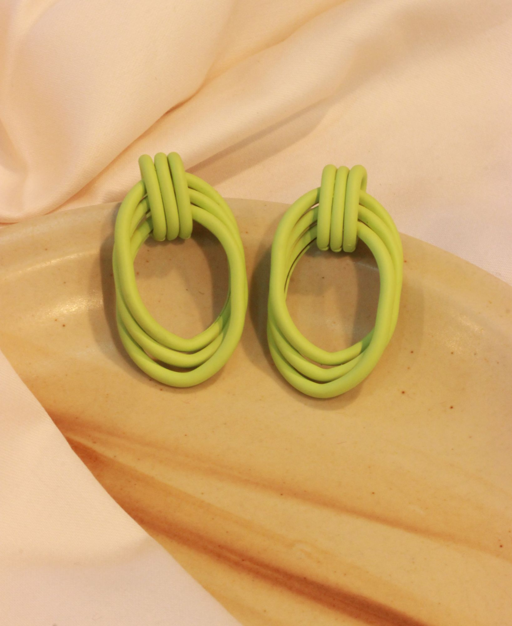 Neon Feisty Drop EarRings
