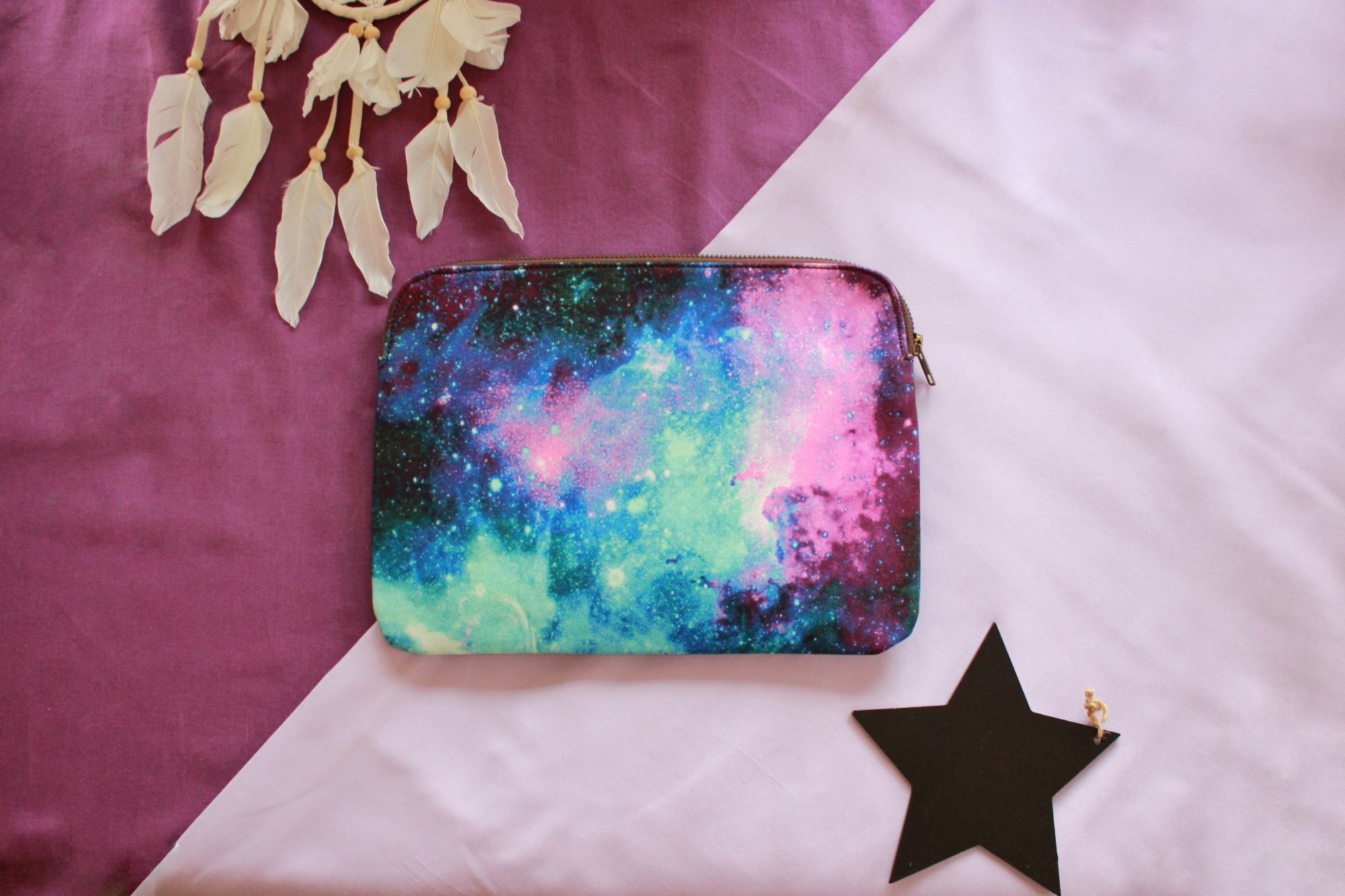 Galaxy Multipurpose/Make Up Pouch