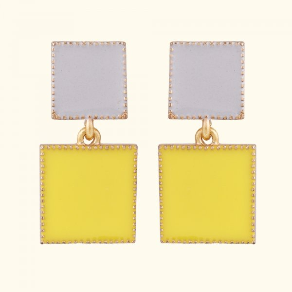 Sunny Fiesta Drop EarRings