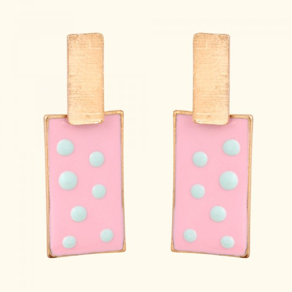 Bubblegum Blush Drop EarRings