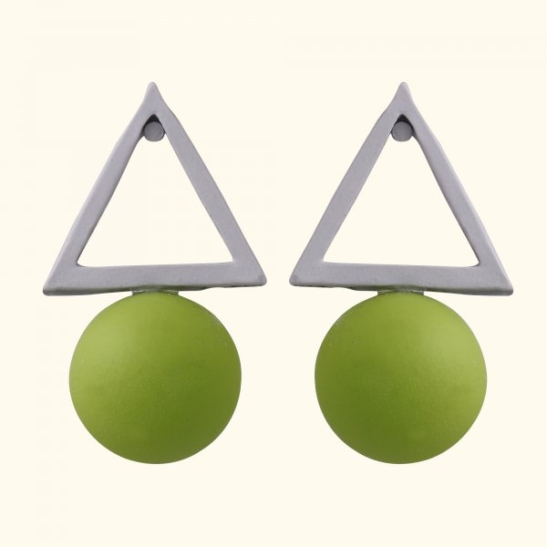 Moonlit Harvet Geometric Drop EarRings