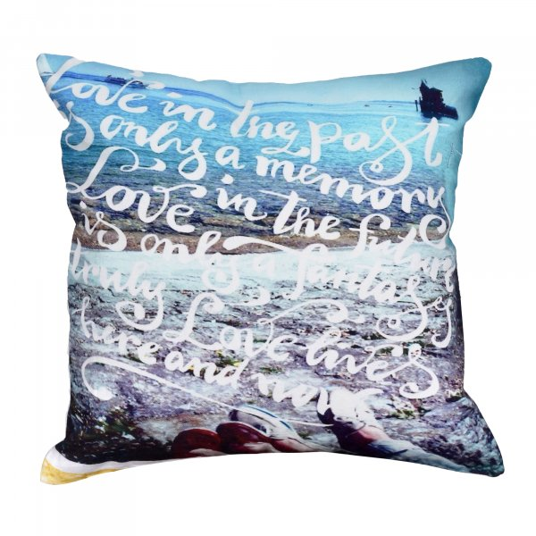 "Soothing Sea 16"" Cushion Cover"