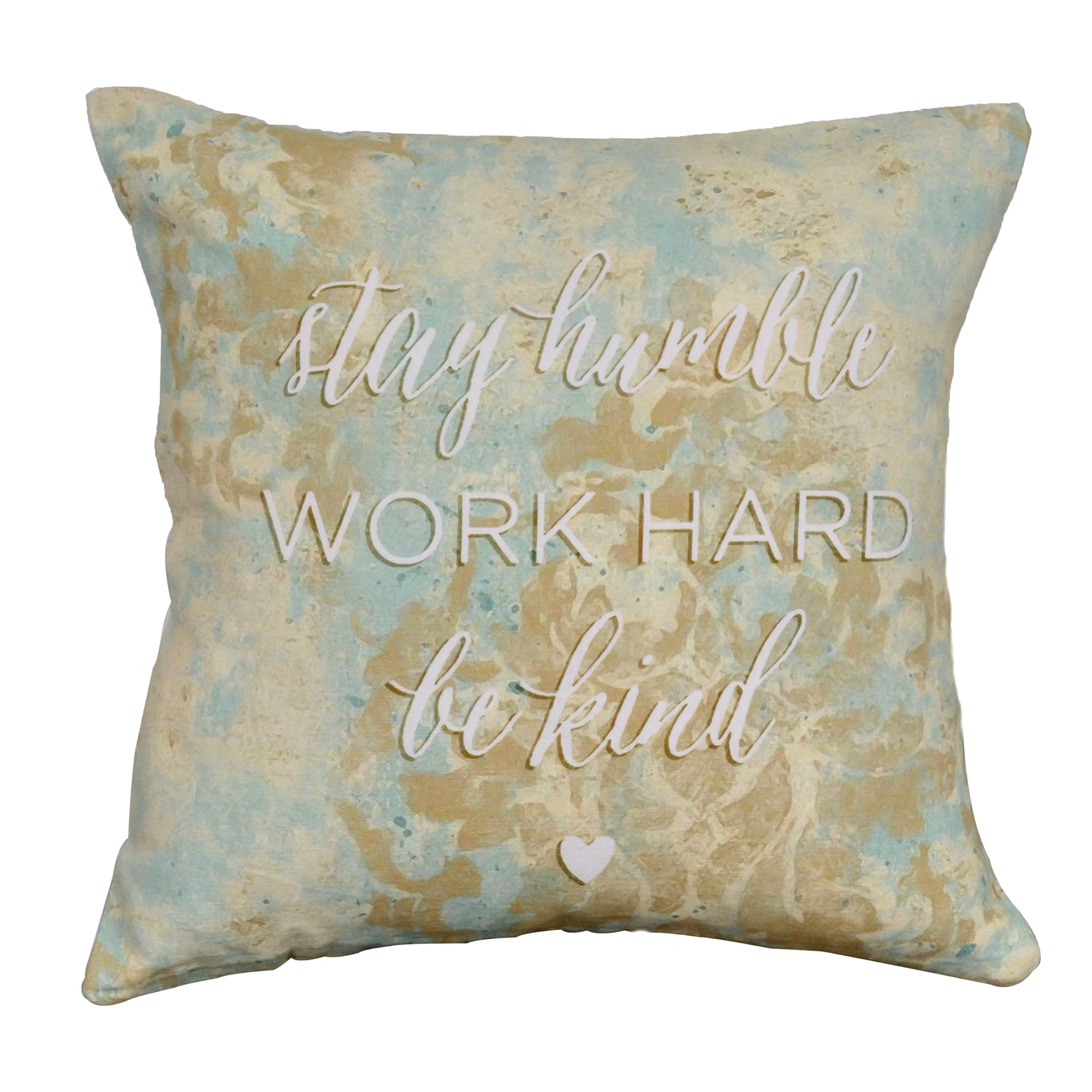 Stay Humble Cotton Cushion Cover 16""