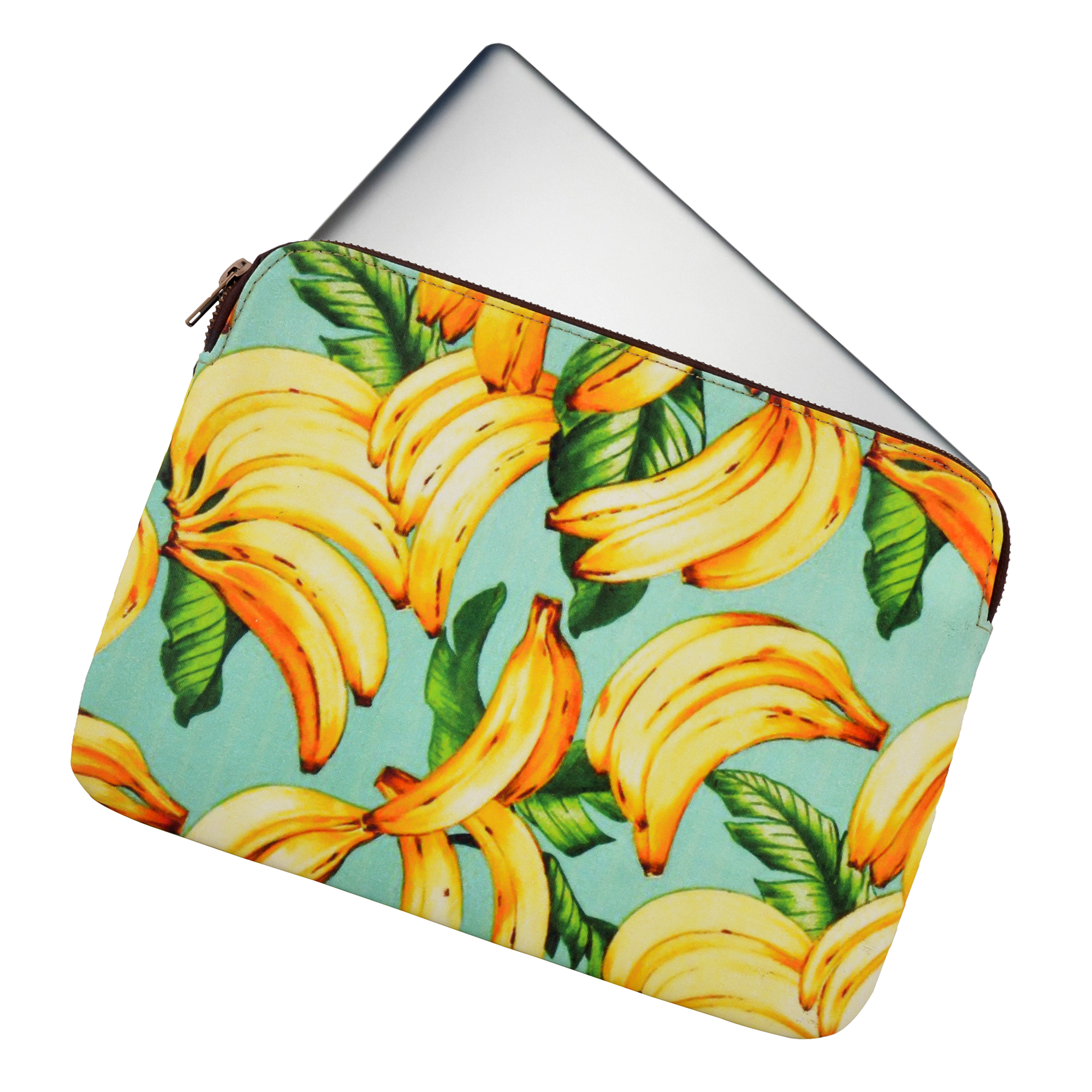 Let's Go Bananas's Protective Laptop Case13""